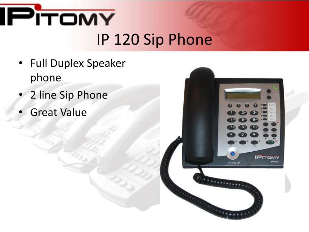 IP 120 Sip Phone