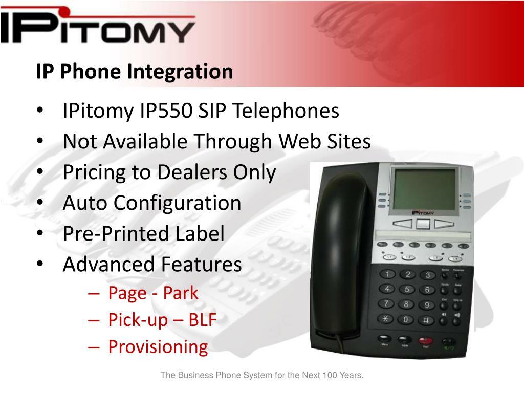 IP Phone Integration