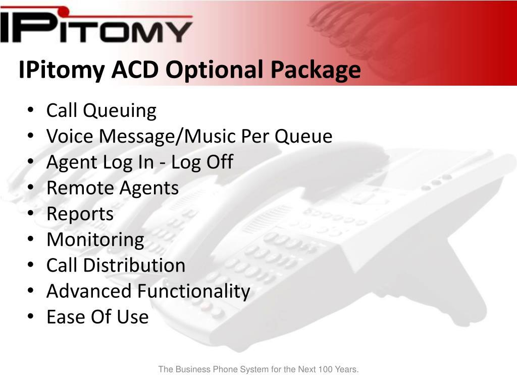 IPitomy ACD Optional Package