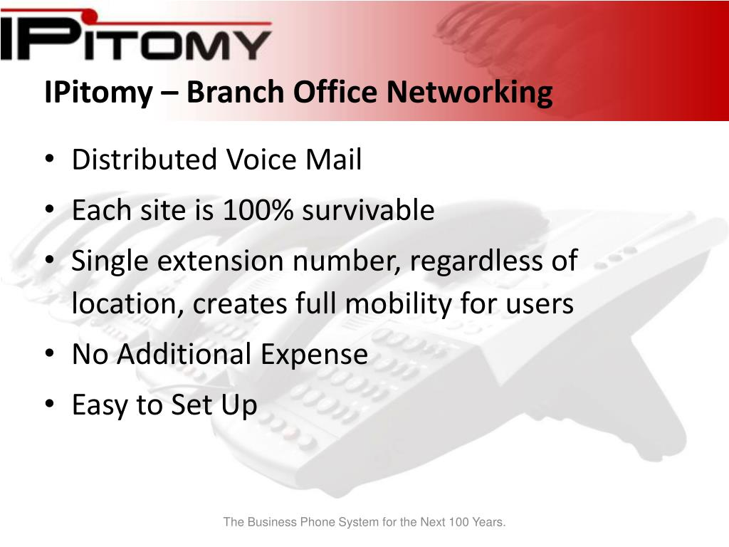 IPitomy – Branch Office Networking