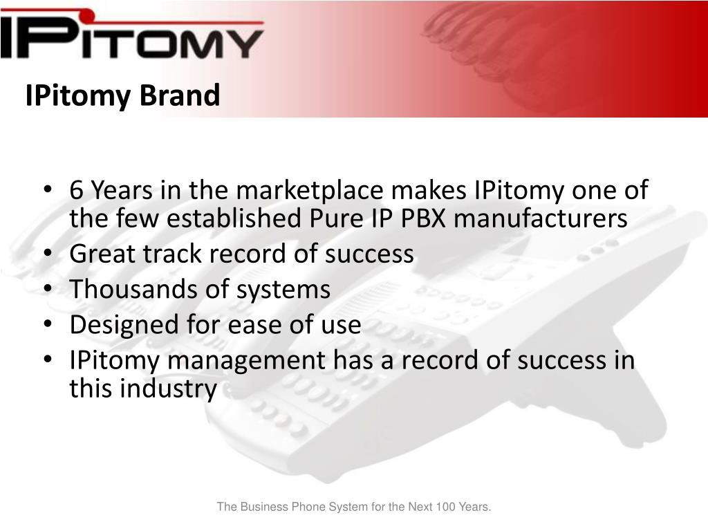 IPitomy Brand