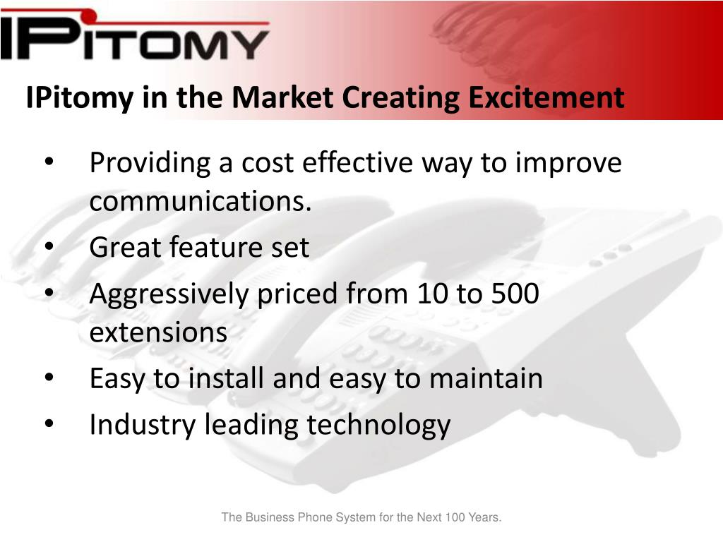 IPitomy in the Market Creating Excitement