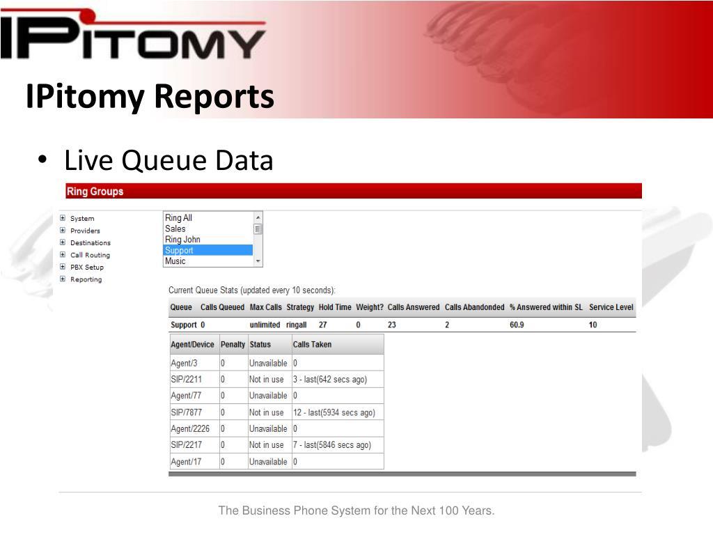 IPitomy Reports