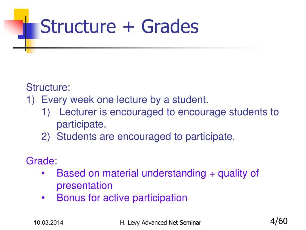Structure + Grades