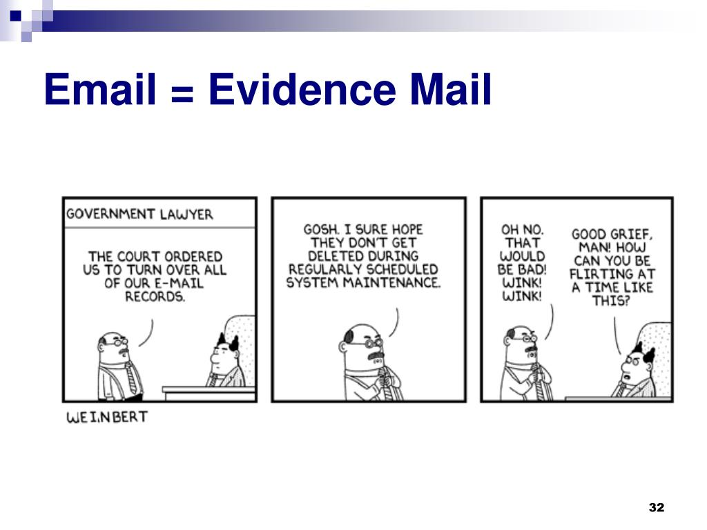 Email = Evidence Mail