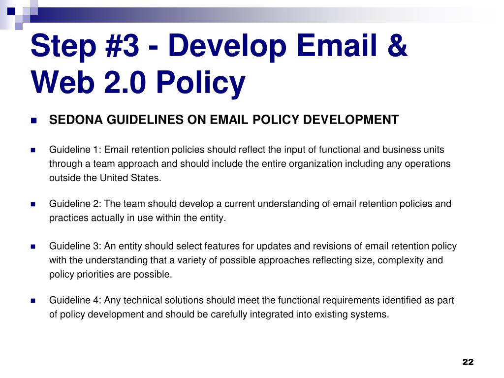 Step #3 - Develop Email &