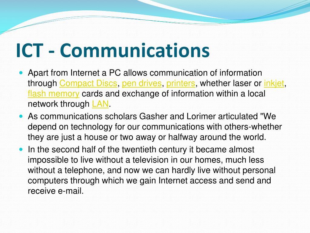 ICT -