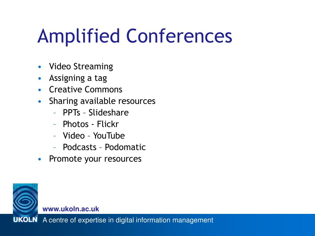 Amplified Conferences