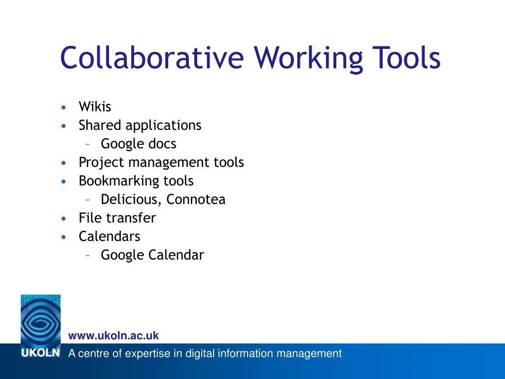 Collaborative Working Tools