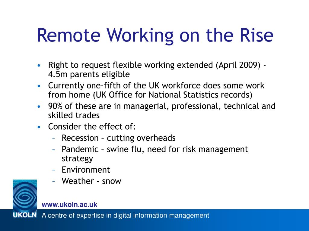 Remote Working on the Rise