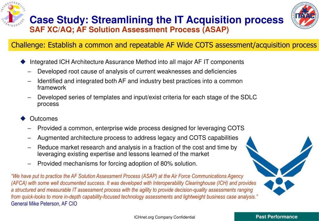 Case Study: Streamlining the IT Acquisition process