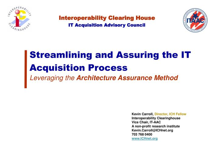 Interoperability Clearing House