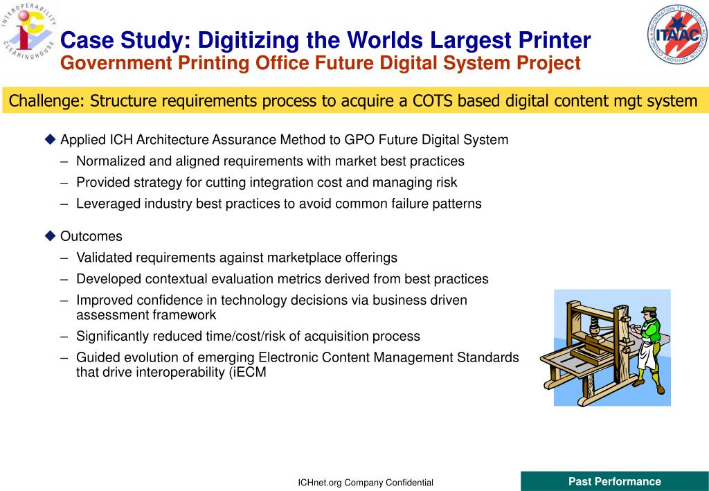 Case Study: Digitizing the Worlds Largest Printer