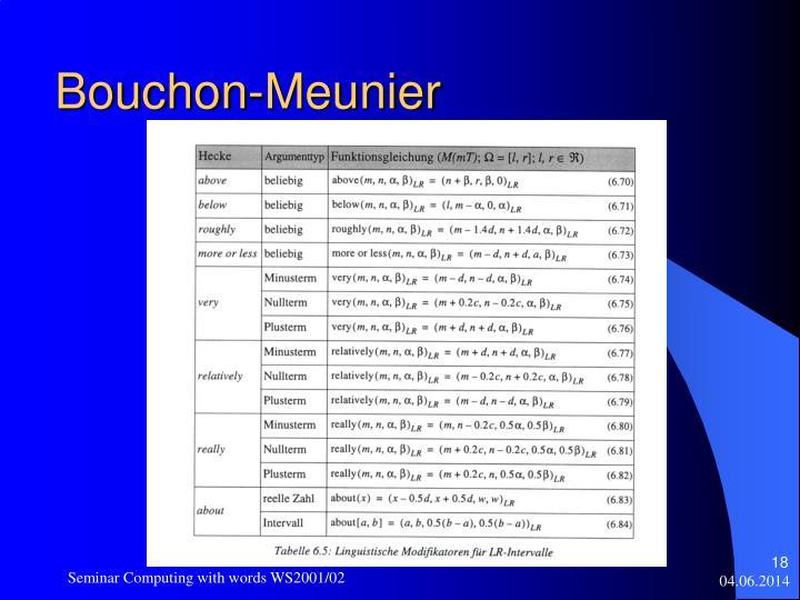 Bouchon-Meunier