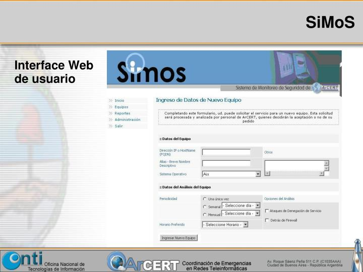 Interface Web