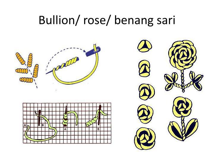 Bullion/ rose/