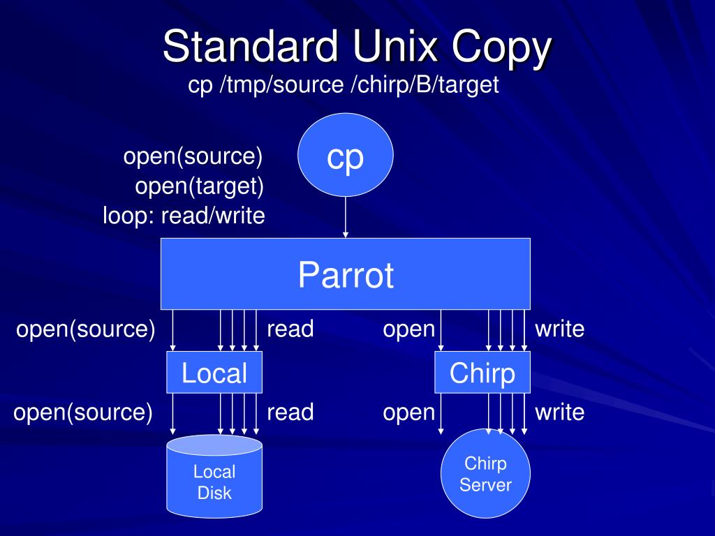 Standard Unix Copy