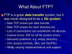 what about ftp