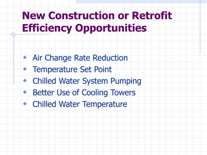 New Construction or Retrofit