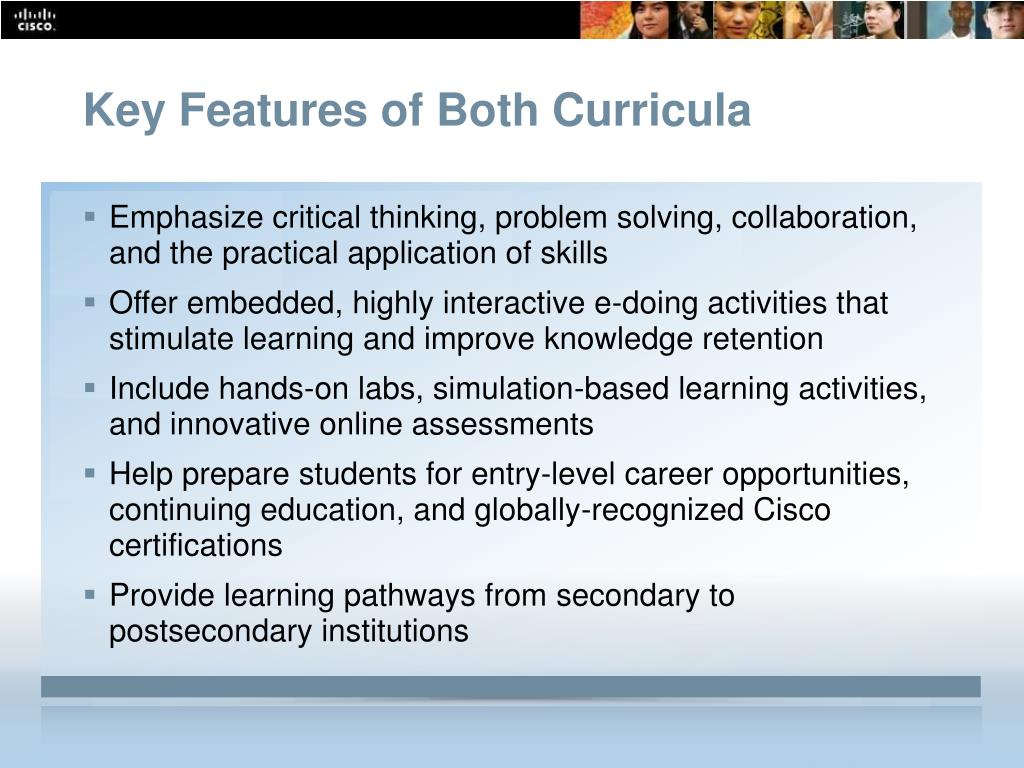 Key Features of Both Curricula