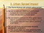 3 urban sprawl impact