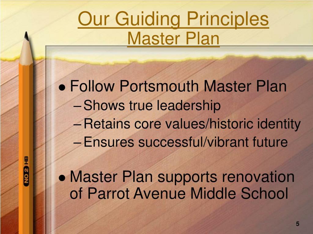 Our Guiding Principles