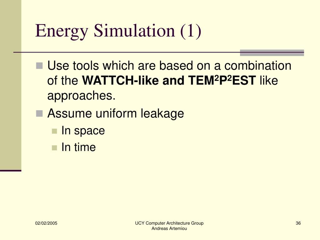 Energy Simulation (1)