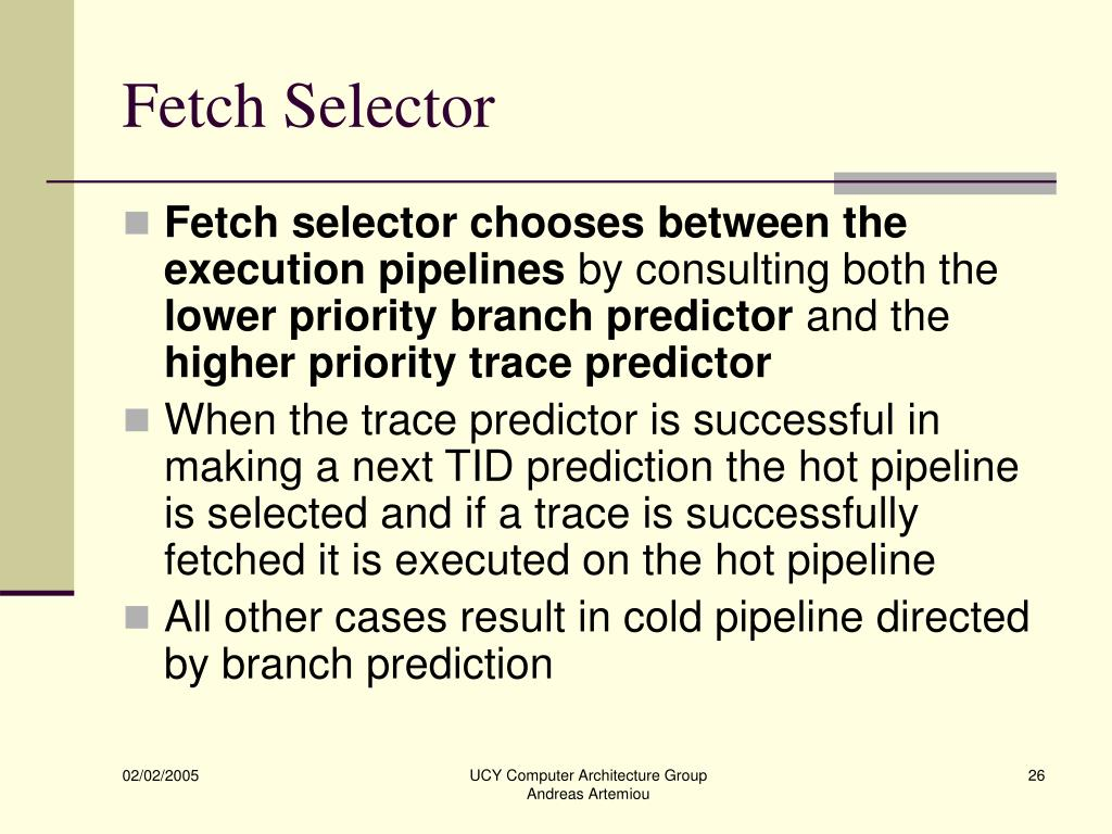 Fetch Selector