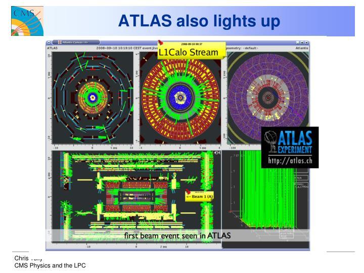 ATLAS also lights up