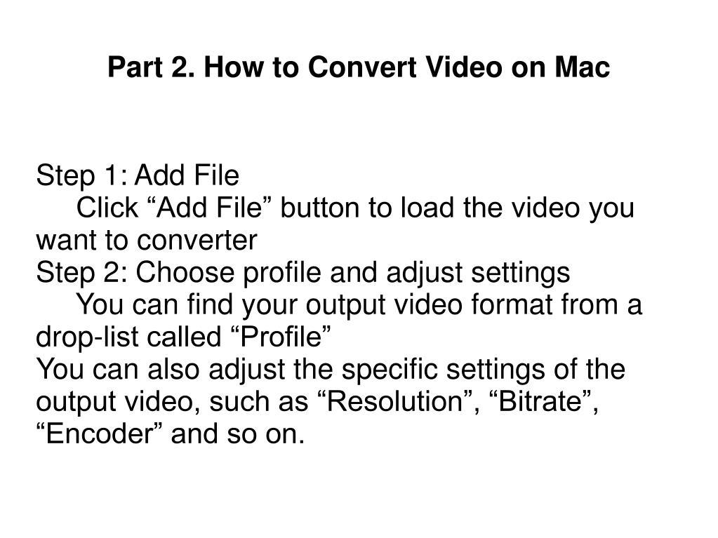 Step 1: Add File