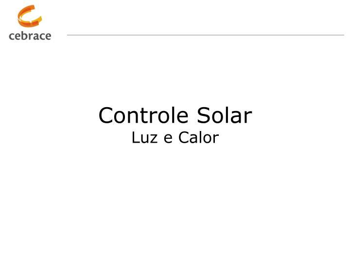 Controle Solar
