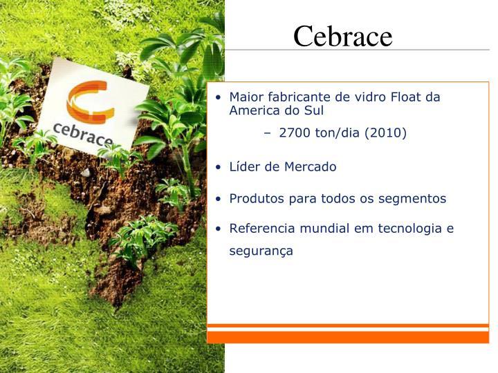 Maior fabricante de vidro Float da America do Sul