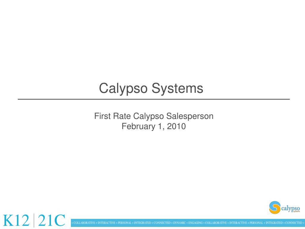 calypso systems