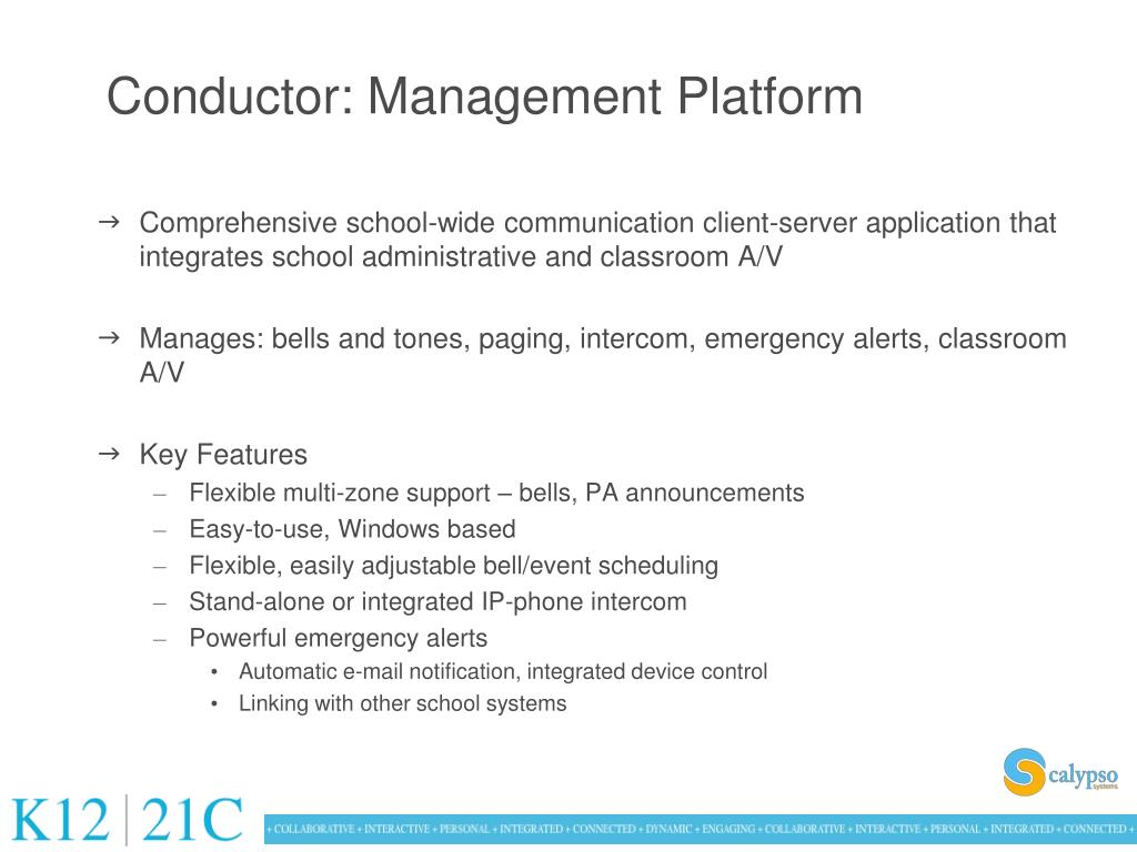 Conductor: Management Platform