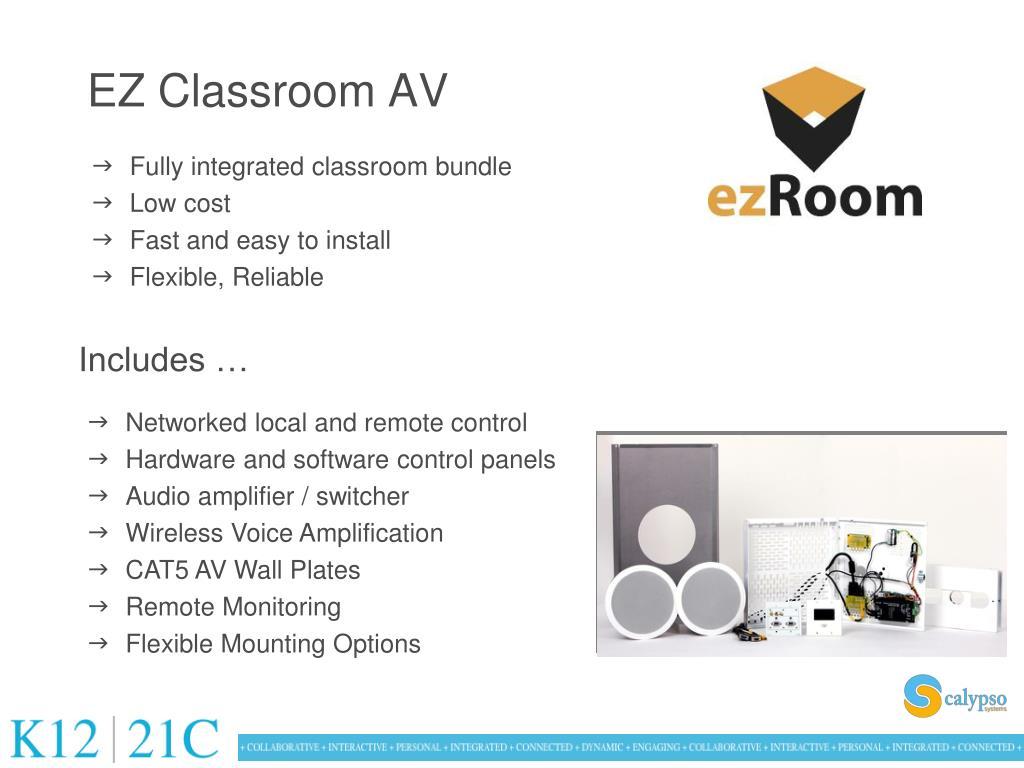 EZ Classroom AV