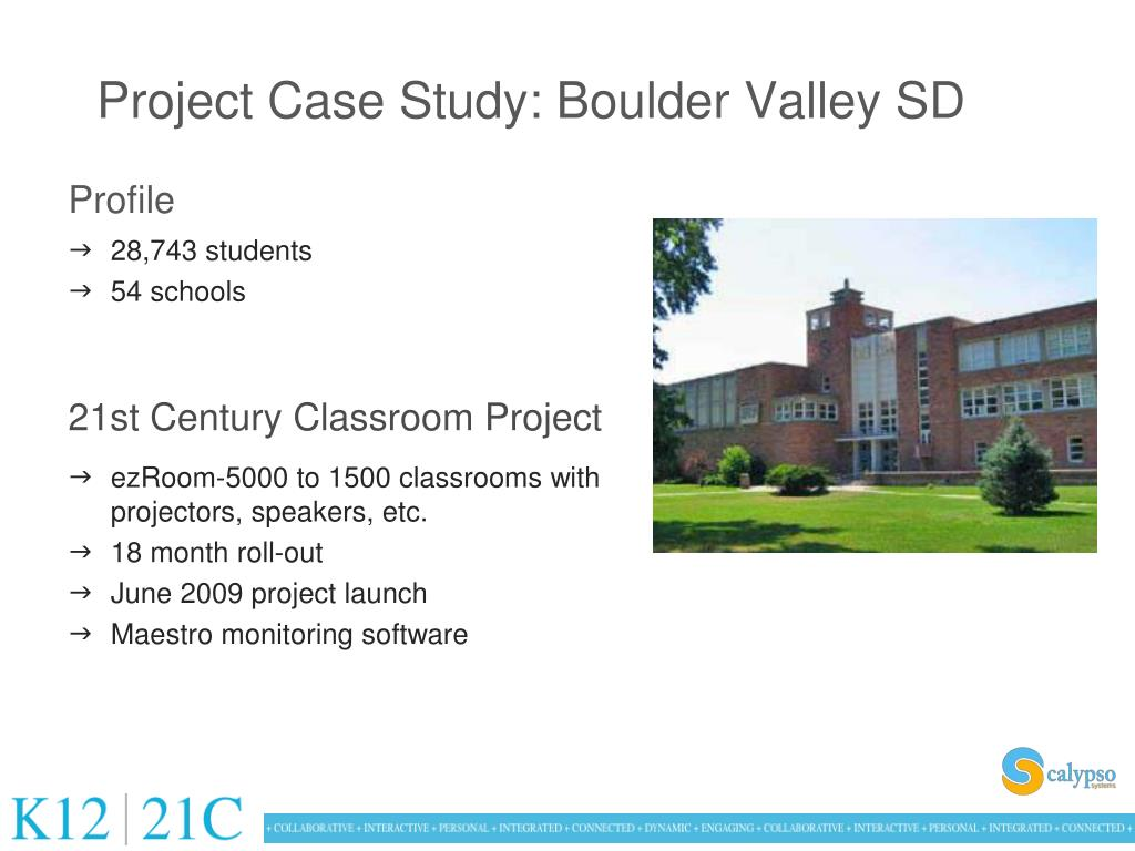 Project Case Study: Boulder Valley SD
