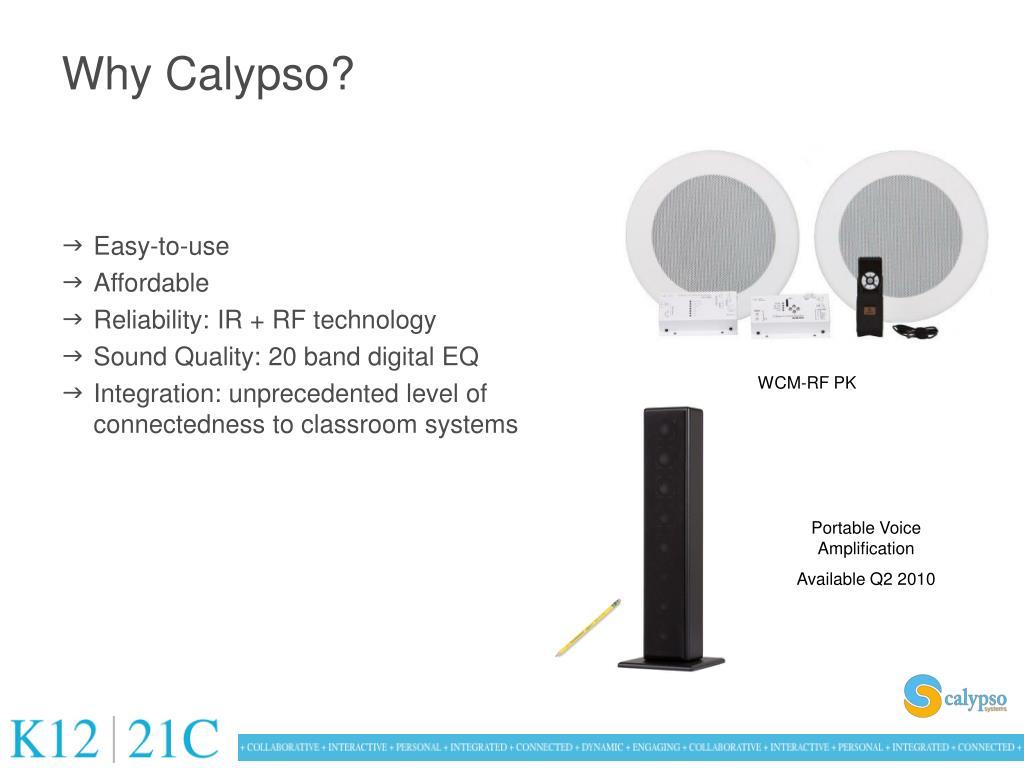 Why Calypso?