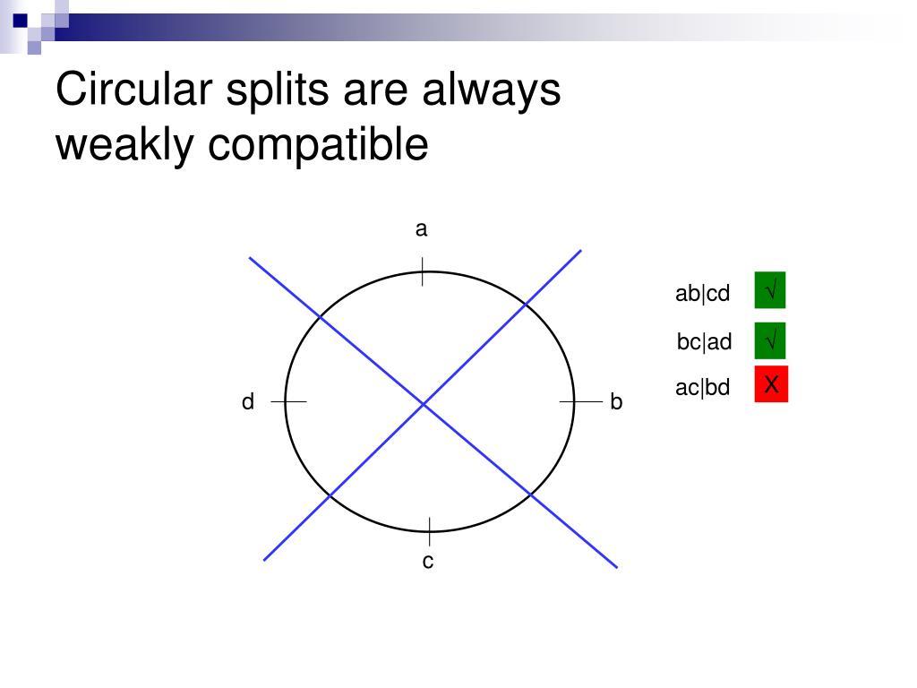 Circular splits are always