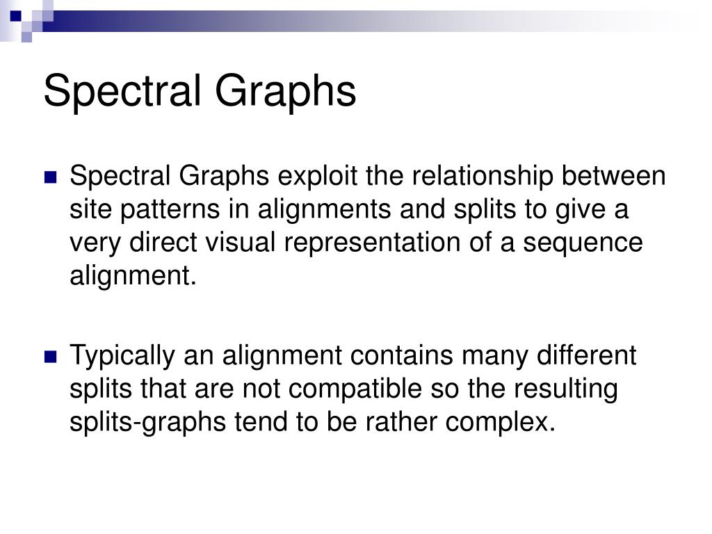 Spectral Graphs