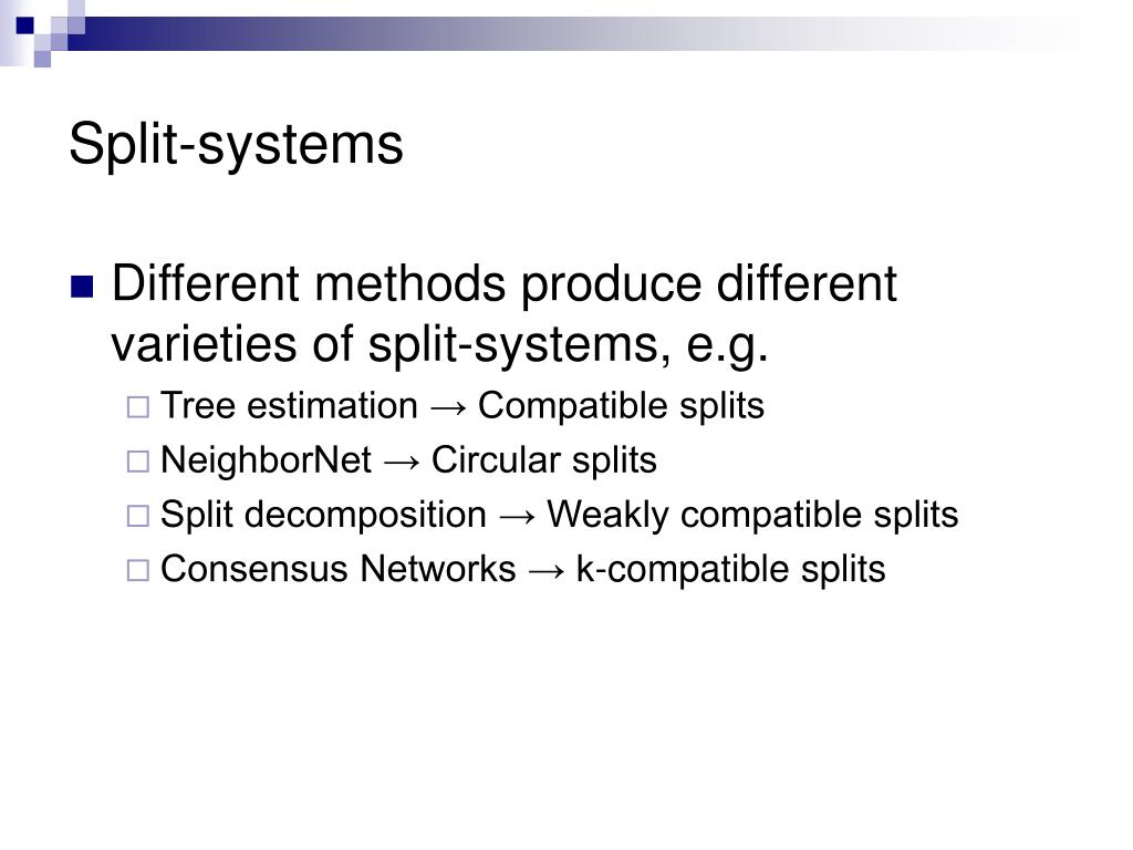 Split-systems