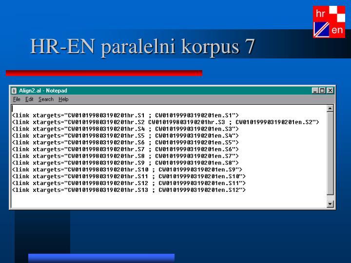 HR-EN paralelni korpus 7