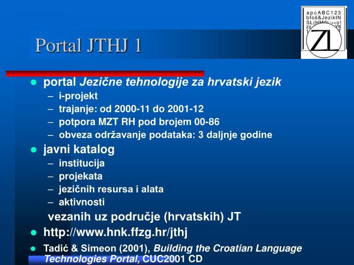 Portal JTHJ 1