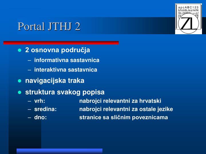 Portal JTHJ 2