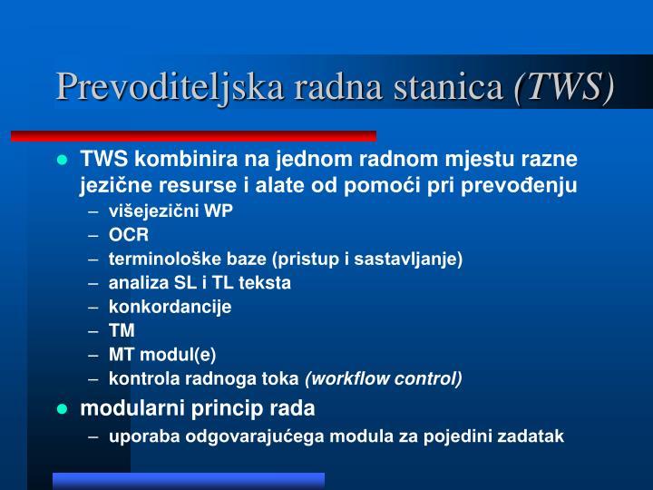 Prevoditeljska radna stanica