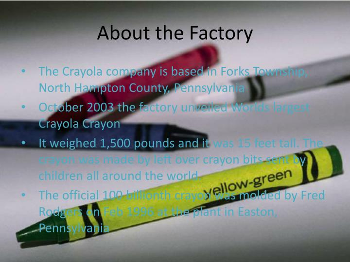 About the Factory
