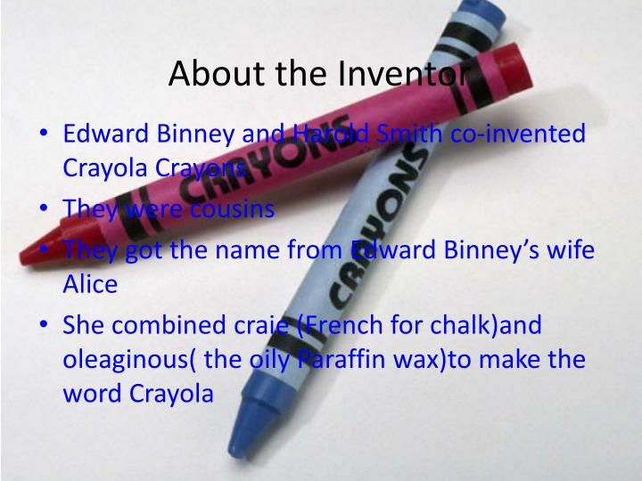 About the Inventor