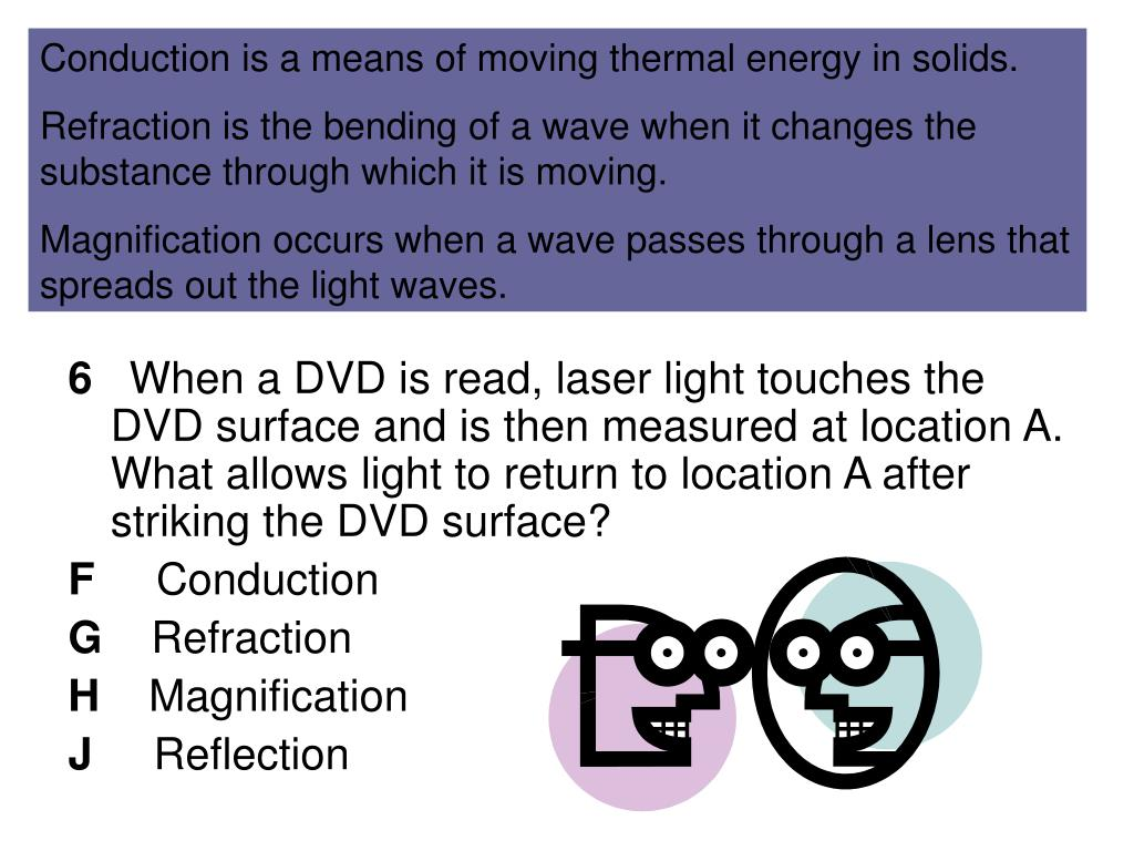 Conduction is a means of moving thermal energy in solids.