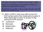 laser light striking a dvd