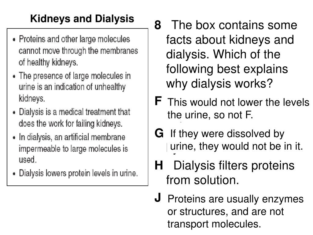Kidneys and Dialysis