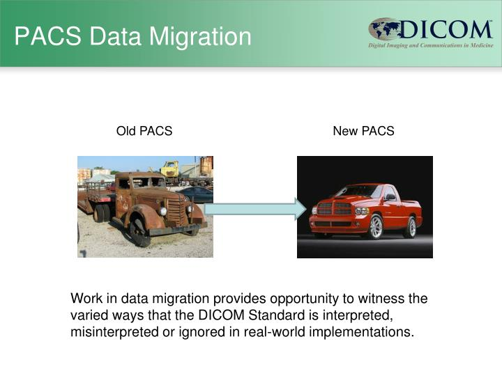 PACS Data Migration